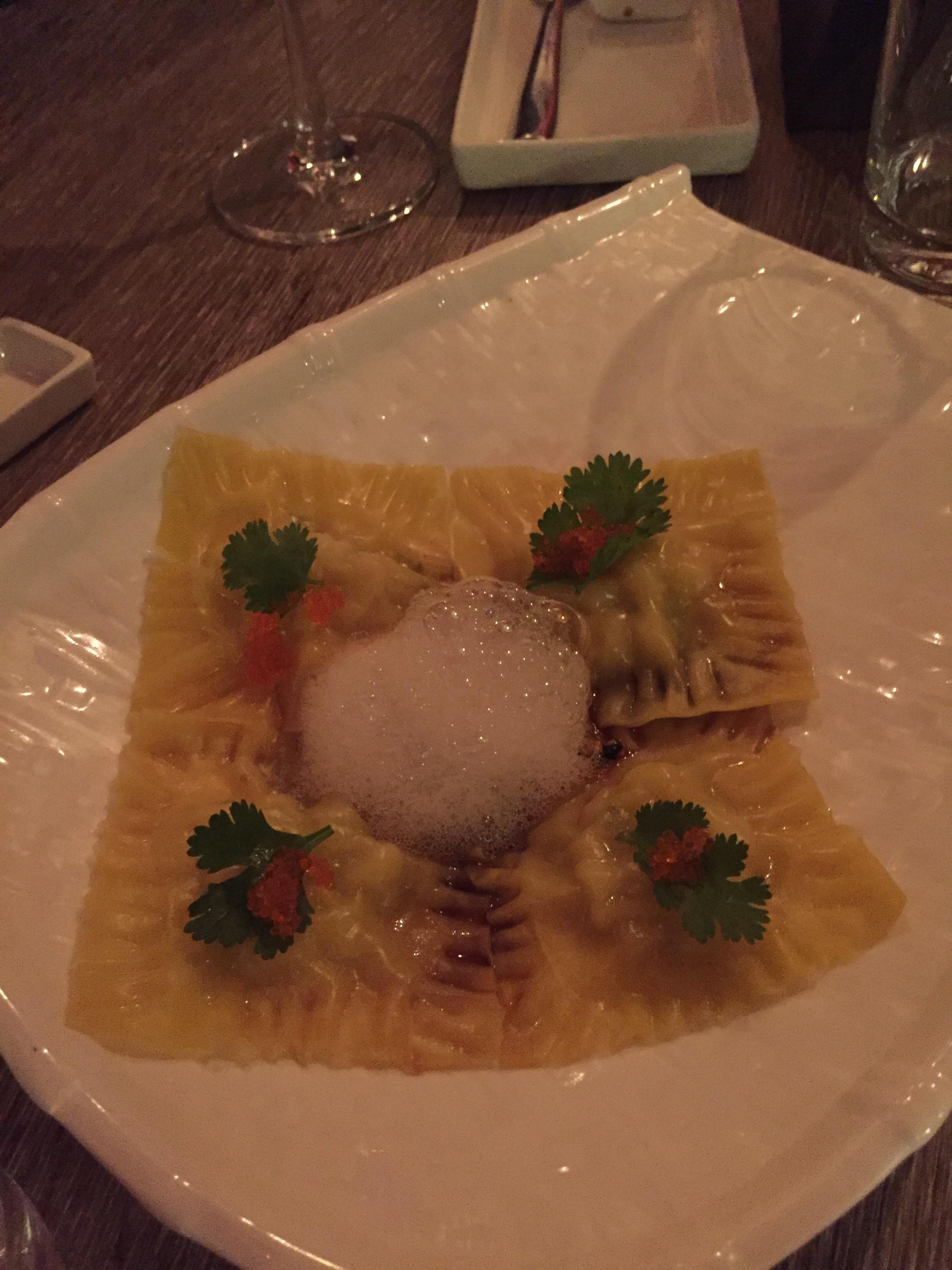 Crab & Scallop Ravioli