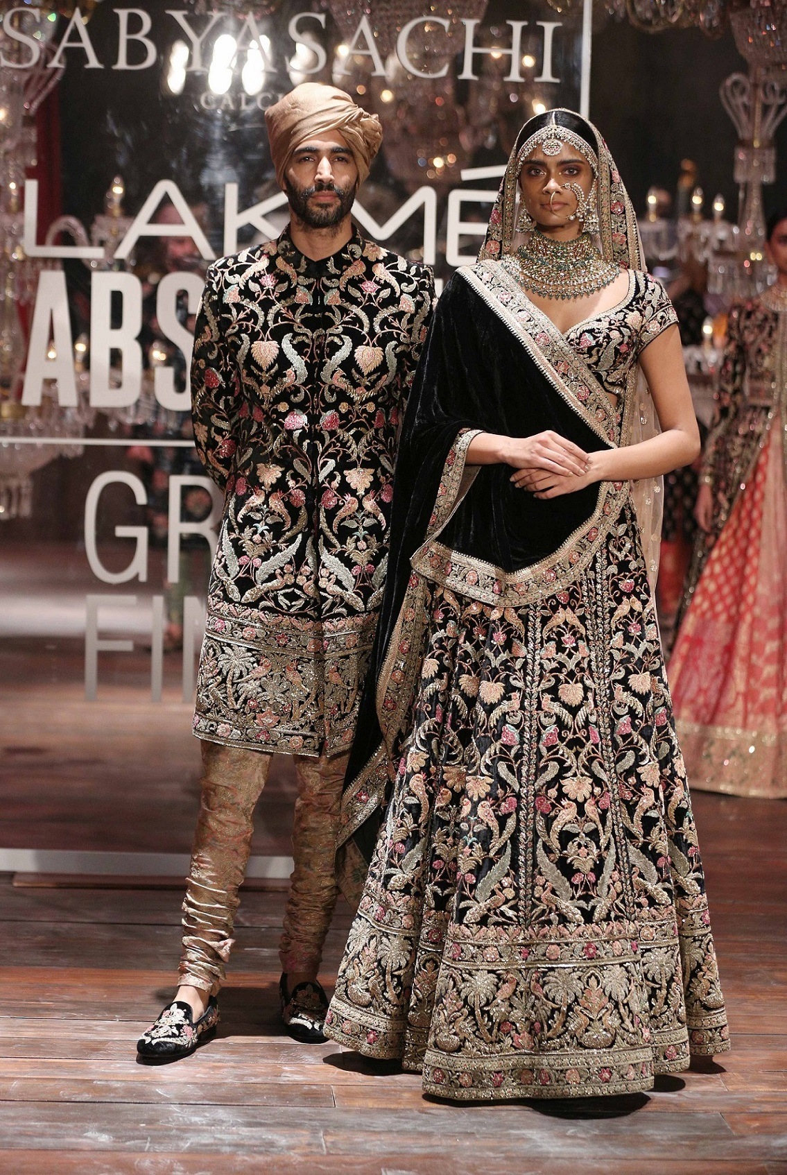 Models at the Lakme Absolute Grand Finale by Sabysachi (2).jpg
