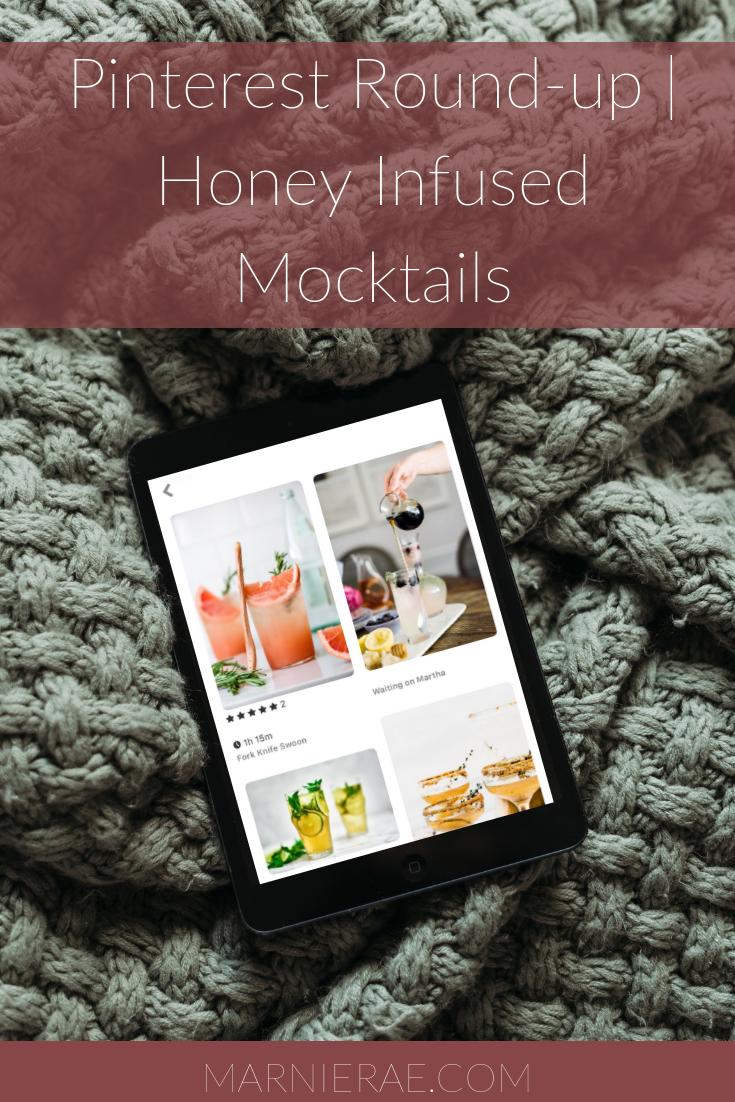 Pinterest Roundup _ Honey Infused Mocktails.png