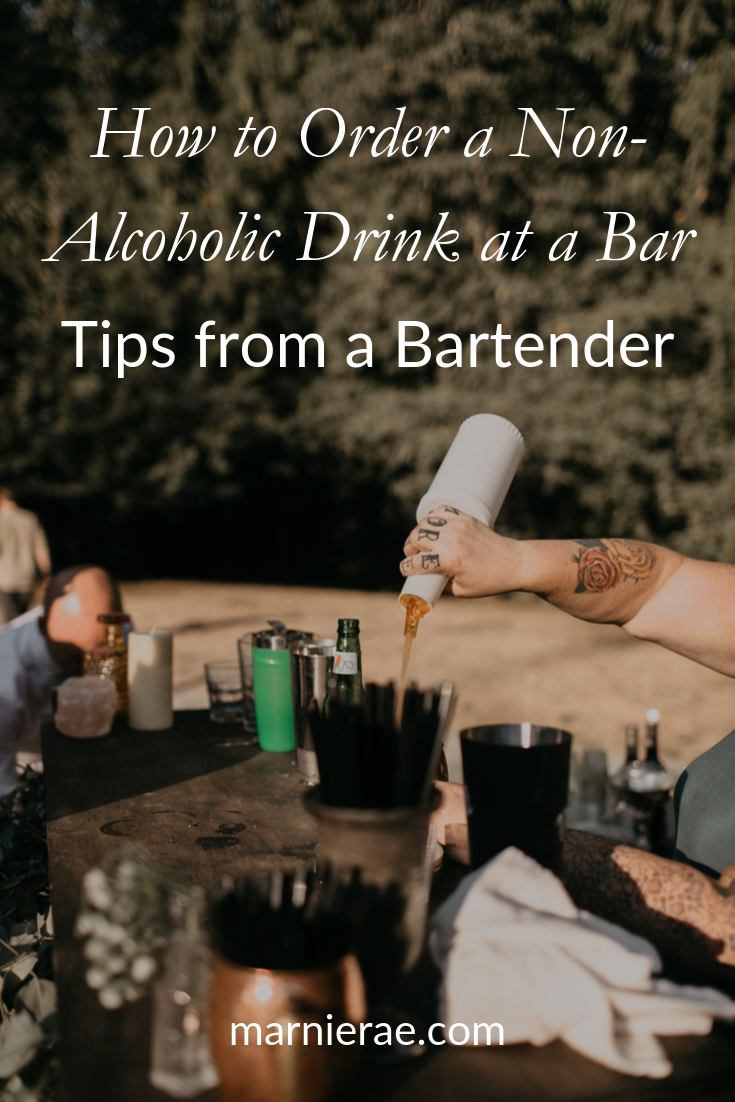 How to Order a Non-Alcoholic Drink at a Bar