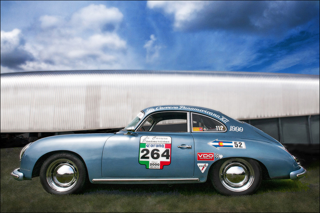 Classic 356 Porsche at LeMay Museum, Tacoma