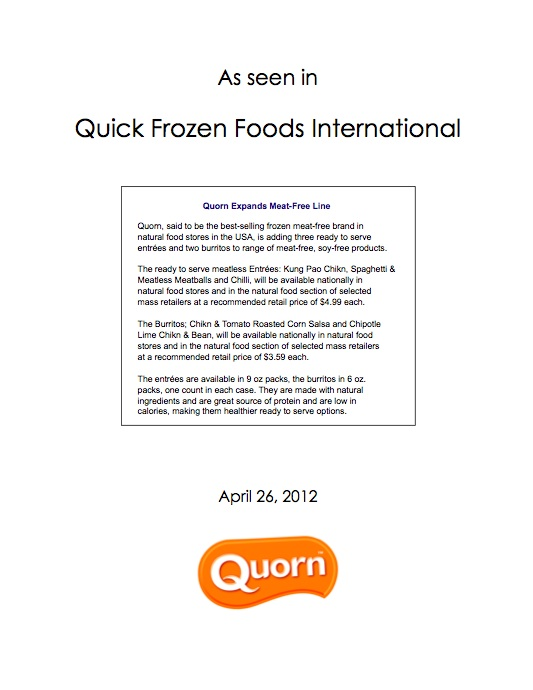 Quorn- QUick Frozen Foods International.jpg