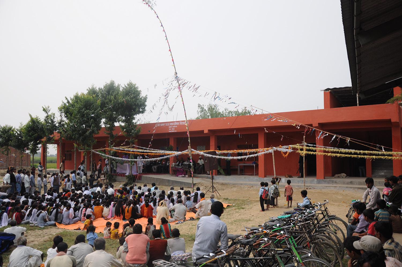 Opening ceremony of the Shree Amar General School at Dohari, Nepal (November 2011)