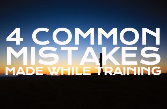 training mistakes