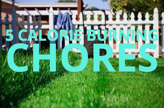 calorie burning chores