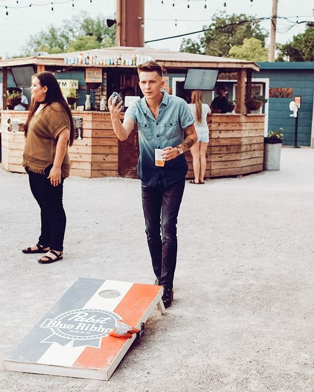 CORNHOLE & COCKTAILS Come play corn hole, enjoy some live music and drink for a cause! @cavettkids⠀⠀⠀⠀⠀⠀⠀⠀⠀ May 18th | 6pm - 9pm⠀⠀⠀⠀⠀⠀⠀⠀⠀ Live Music⠀⠀⠀⠀⠀⠀⠀⠀⠀ $1 from every Cavett Cocktail goes to the foundation and the food trucks will also be donating a portion of their proceeds to the charity