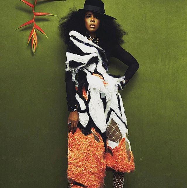 The Amazing Ms. Kelly Rowland  #highfashion #magazine #repost #love #fashion