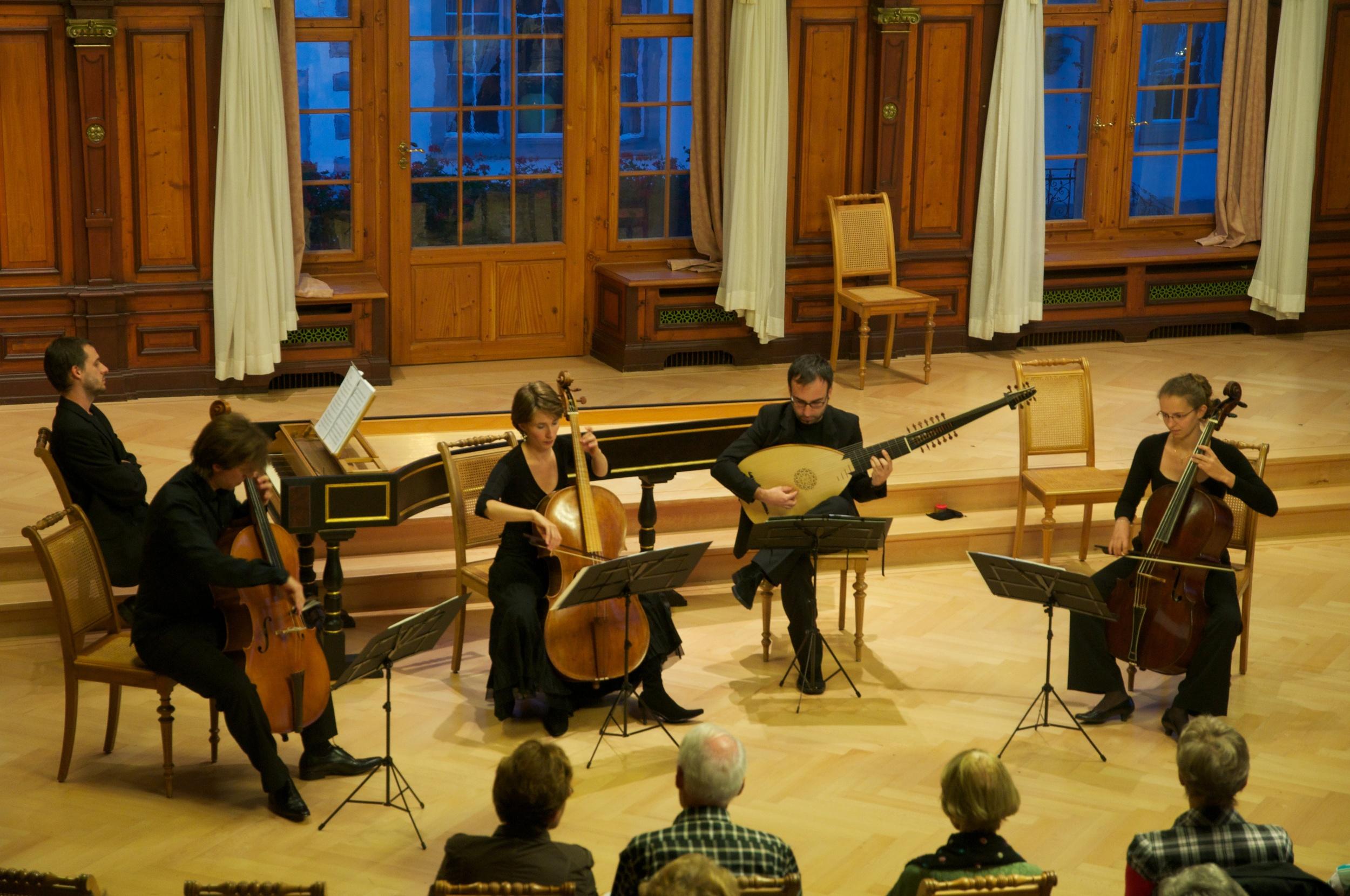 """Basso Solo"" im Rathaus Weinfelden, September 2011"