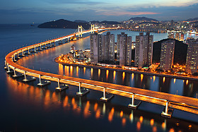 Gwangan Bridge - Busan, South Korea