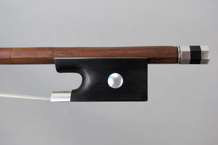 Grand Adam Violin Bow, Frog and Button Copy