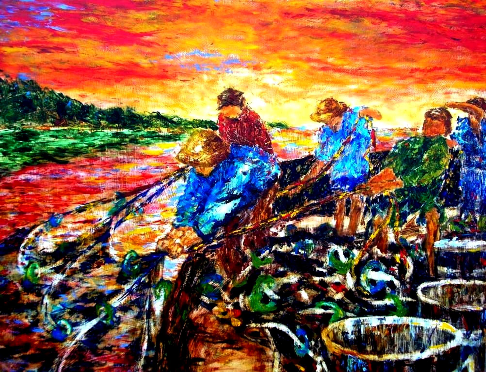 ZAPP - Juntos se Puede, Acrylic on wood 48x36.jpg