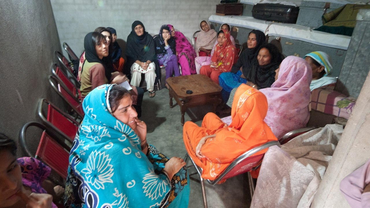 A savings club in Punjab, Pakistan