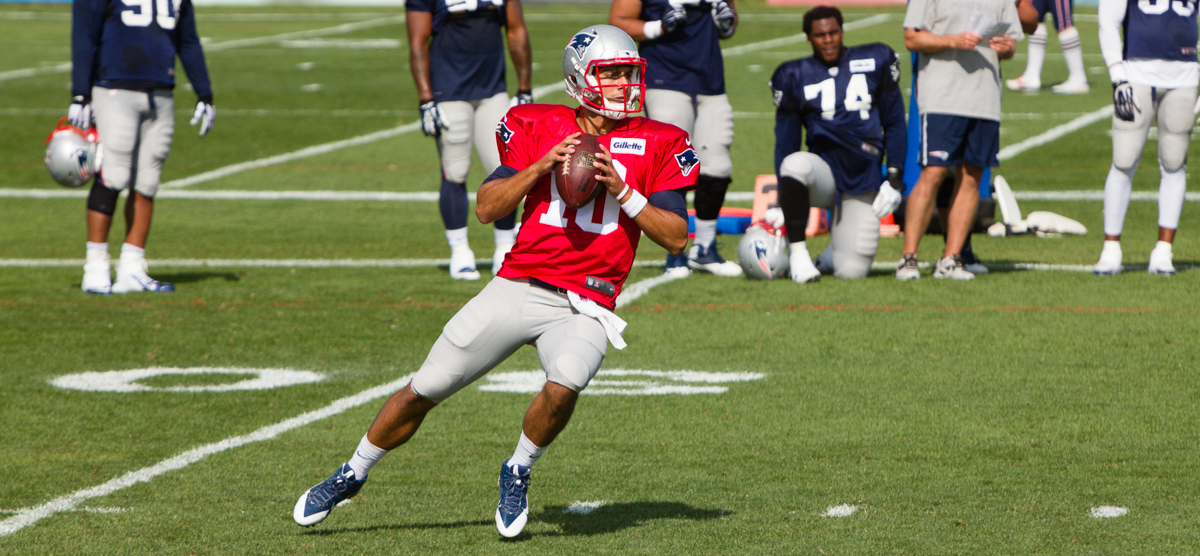The new crown prince, Jimmy Garoppolo