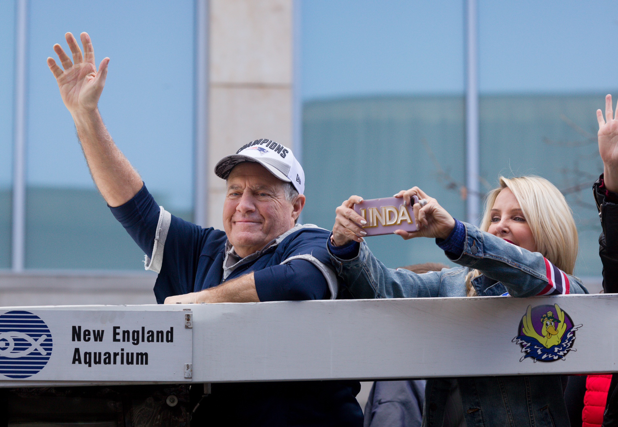Bill Belichick, and, unless I miss my guess, Linda