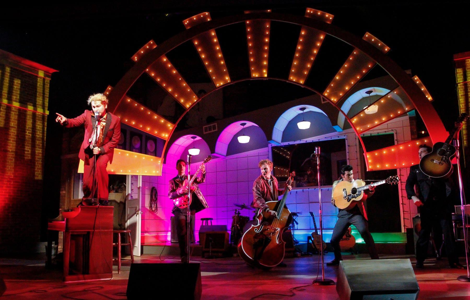 Million Dollar Quartet - Phoenix Theatre. Directed by Scott Weinstein. Photo by Reg Madison.
