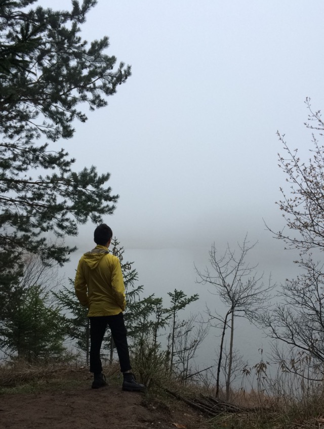 and a big thanks to Sam for helping me out with the shoot. I made sure I had a nature, adventurous shot of him at the end of the day at this spot overlooking the fog that was rolling in.