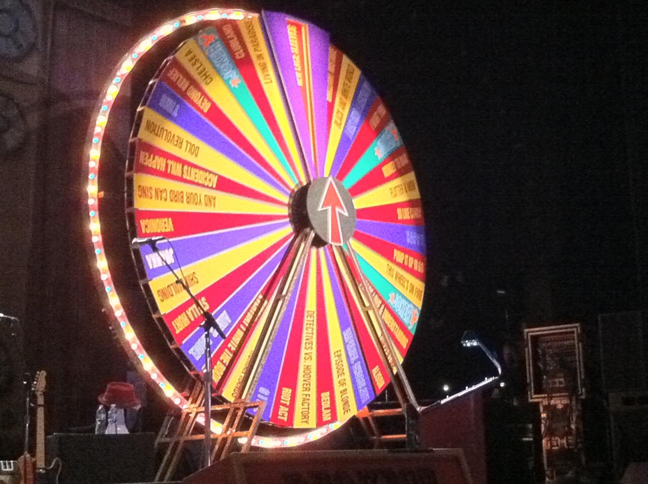 Elvis Costello wheel