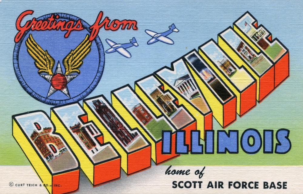 Belleville postcard
