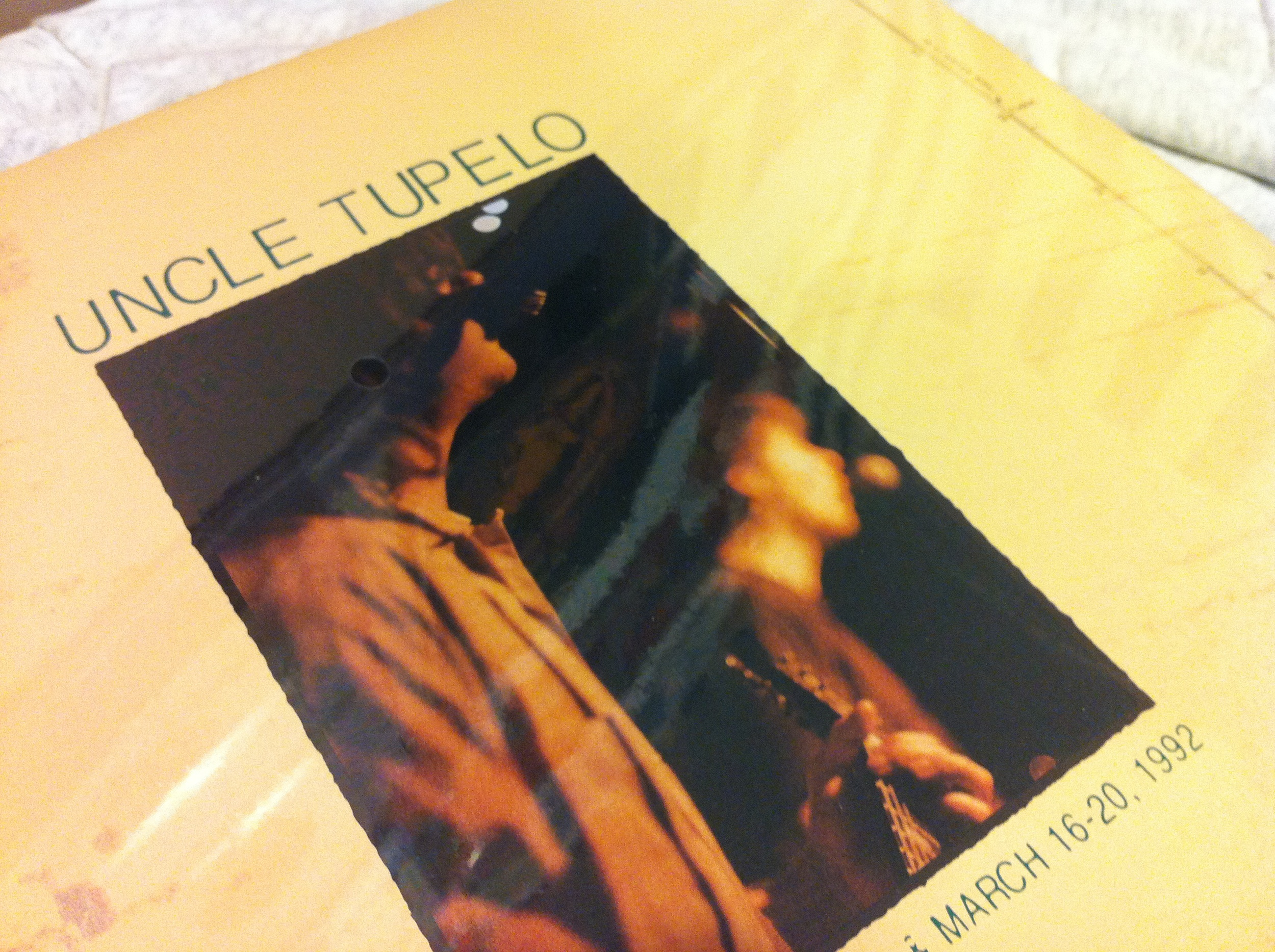 Uncle Tupelo SFG - March vinyl