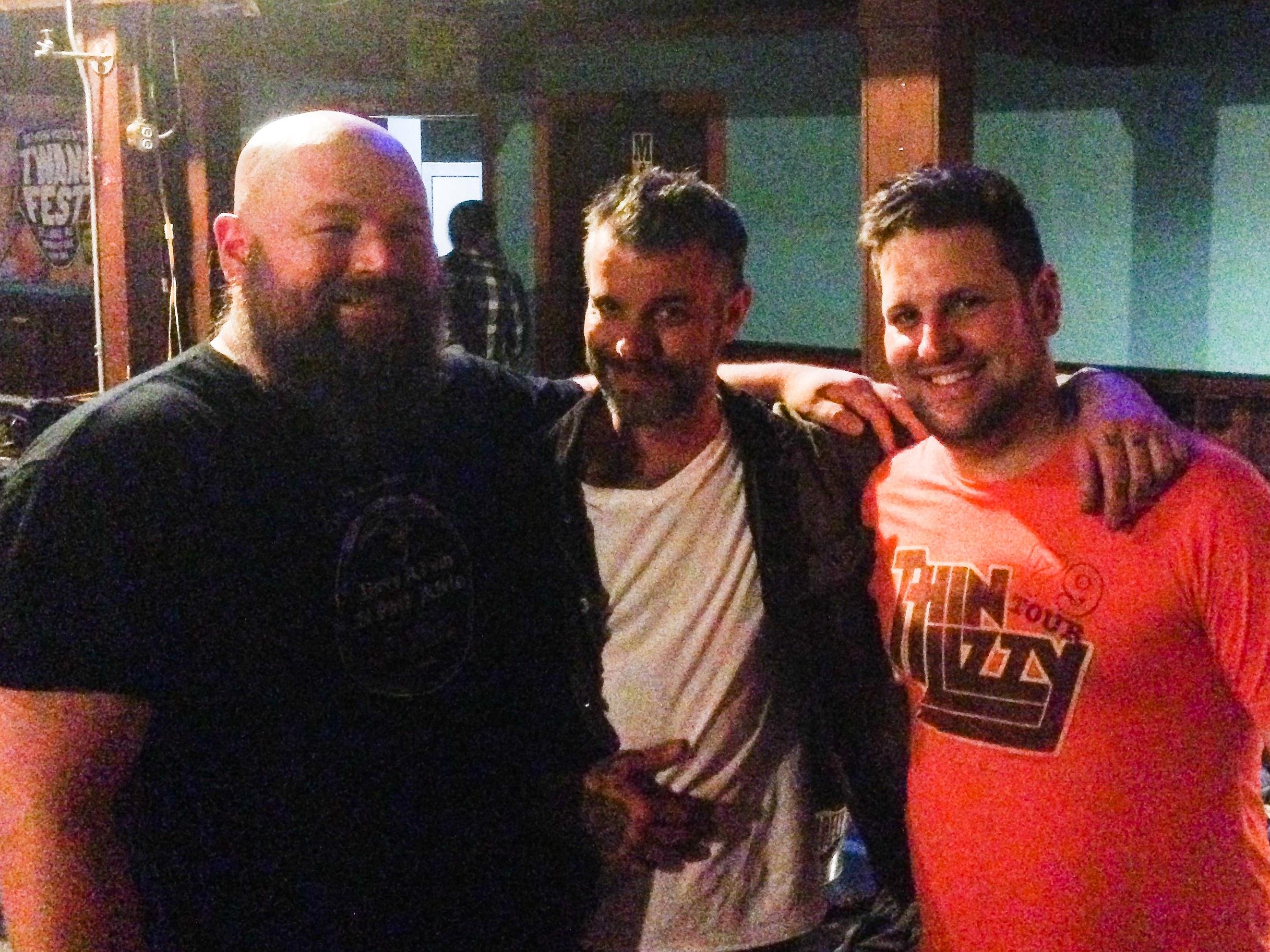 Bart, Ben, and Jeff