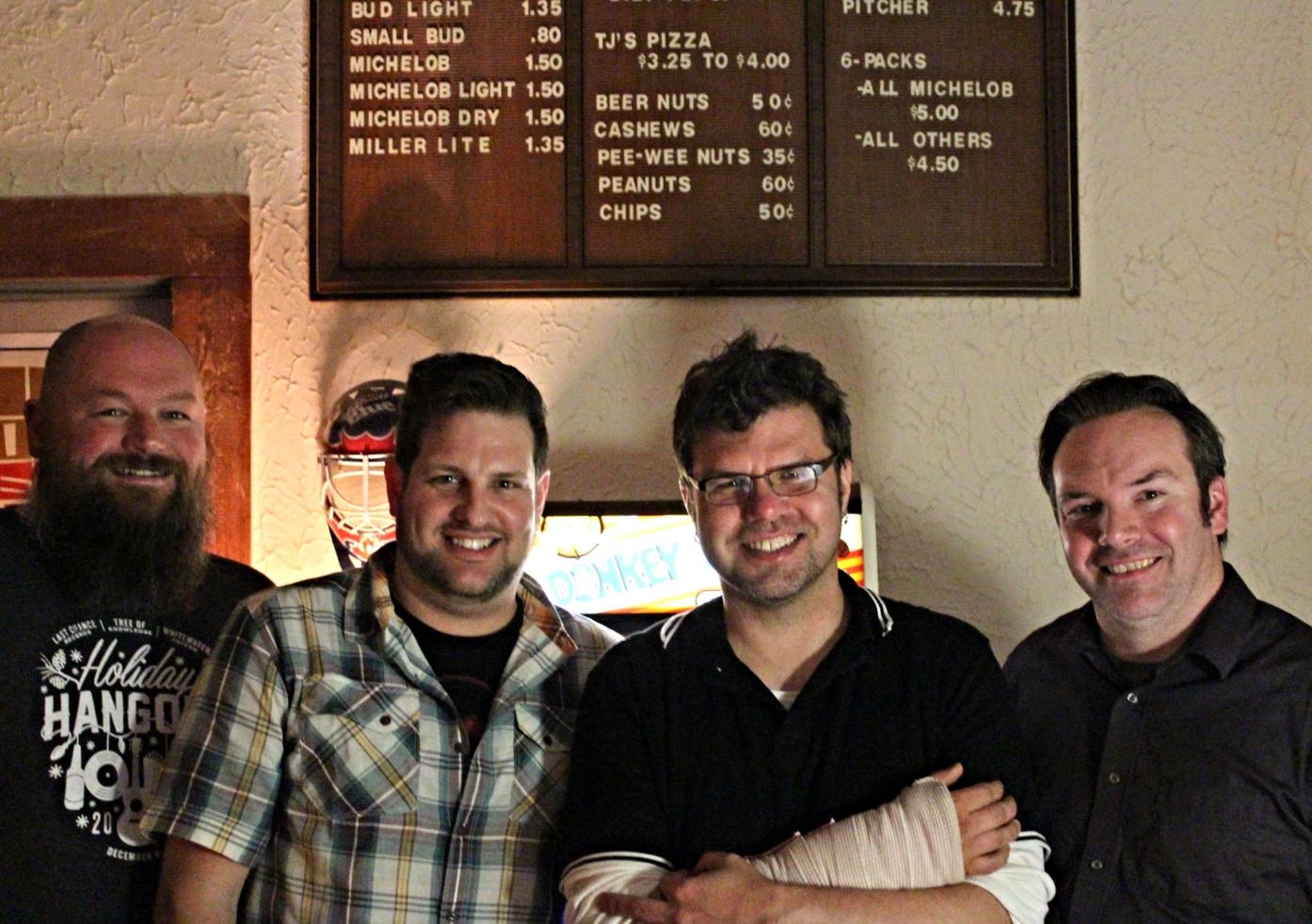 Bart, Jeff, Thomas Crone, and Scott
