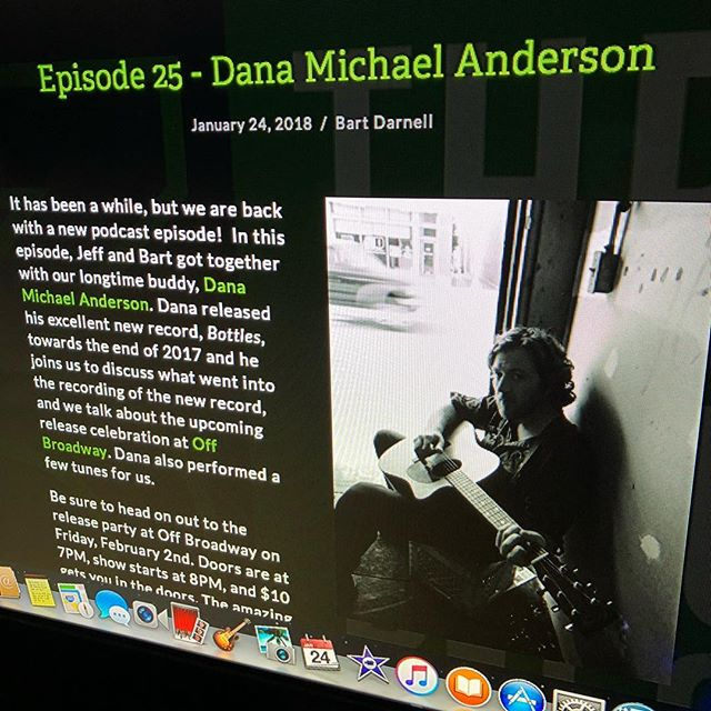 New episode of the podcast featuring Dana Michael Anderson is now up and running. Check it out now on our website at 3minrecord.com, iTunes, Google Play, or Stitcher.