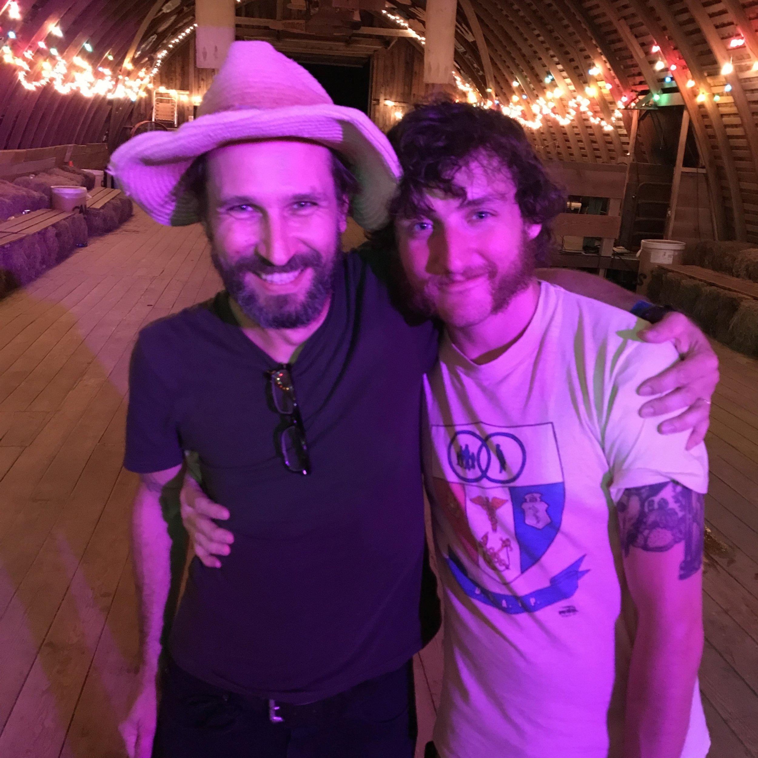 Will Johnson with John Calvin Abney. June 17, 2017 at Codfish Hollow Barnstormers.