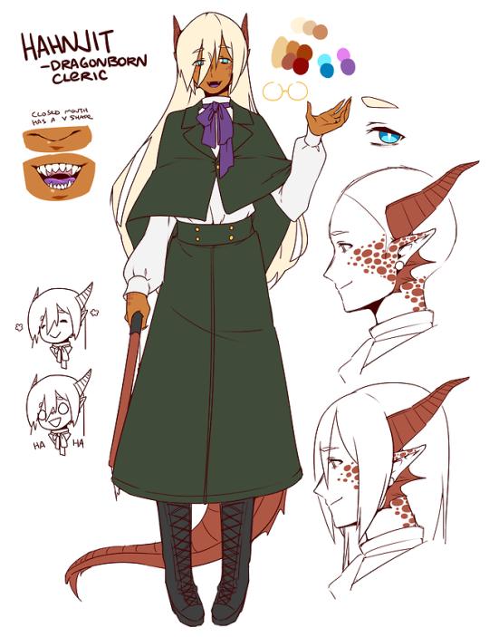 Dragonborn Cleric, Hahnjit.
