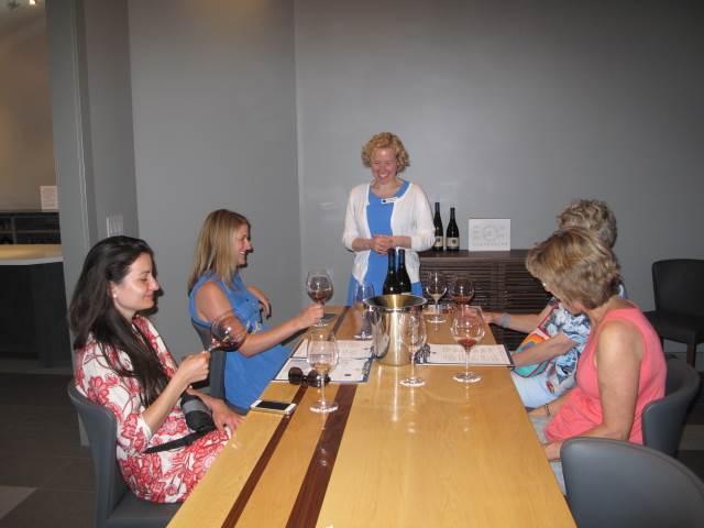 Tasting Wine in Healdsburg