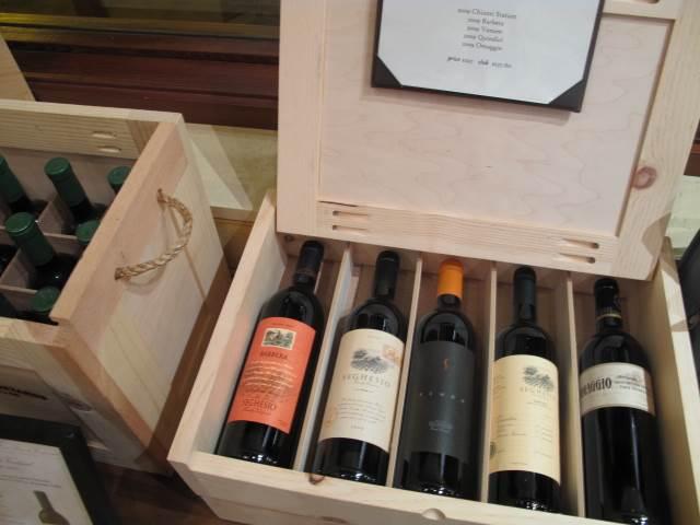 Case of Wine at Seghesio