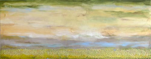 "Peaceful Passages  24"" x 60"" SOLD"