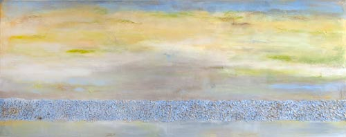 "Lost in Thought  24"" x 60"" SOLD"