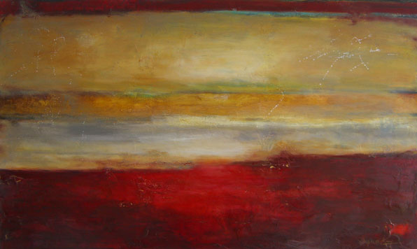 """Expand Your Horizons // 36"""" x 60"""" // SOLD"""