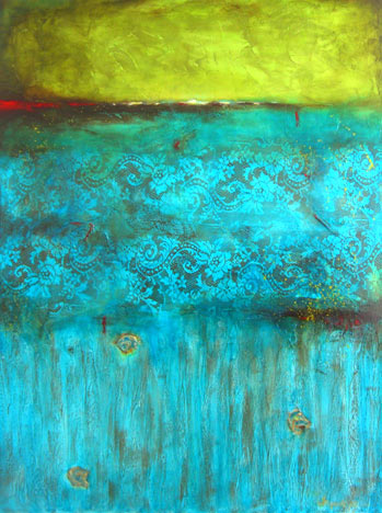"""Acres Of Grace // 36"""" x 48"""" // SOLD"""