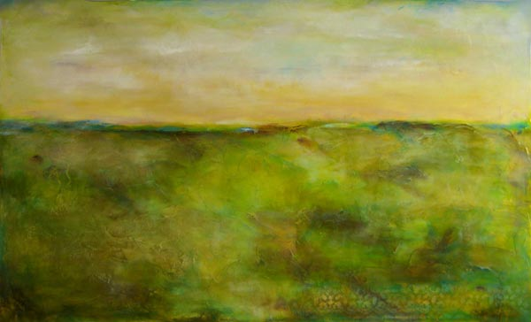 """Gentle Space // 36"""" x 60"""" // SOLD"""