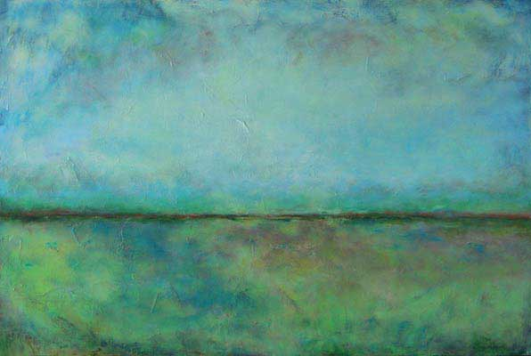 """Abstract Horizons 6 // 40"""" x 60"""" // SOLD"""