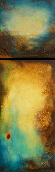 """A Place to Dream// 12"""" x 36"""" // SOLD"""