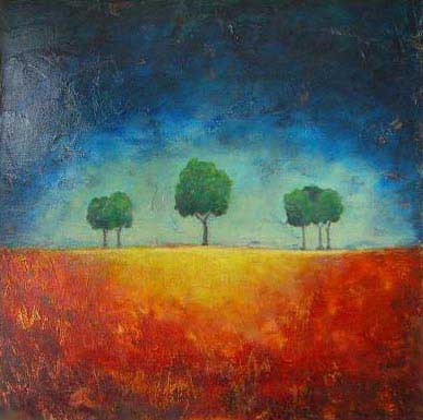 """Golden Moments // 30"""" x 30"""" // SOLD"""