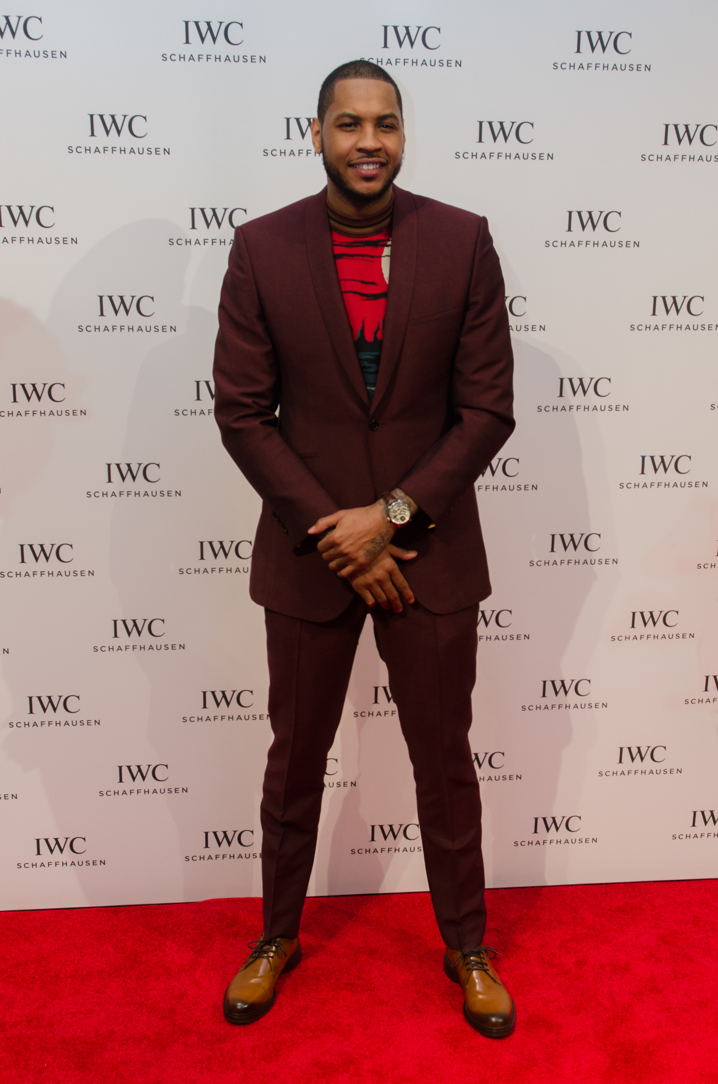 "Carmelo Anthony [New York Knicks] @    IWC Schaffhausen  and Tribeca Film Festival Host ""For the Love of Cinema"" Celebration at Urban Zen"