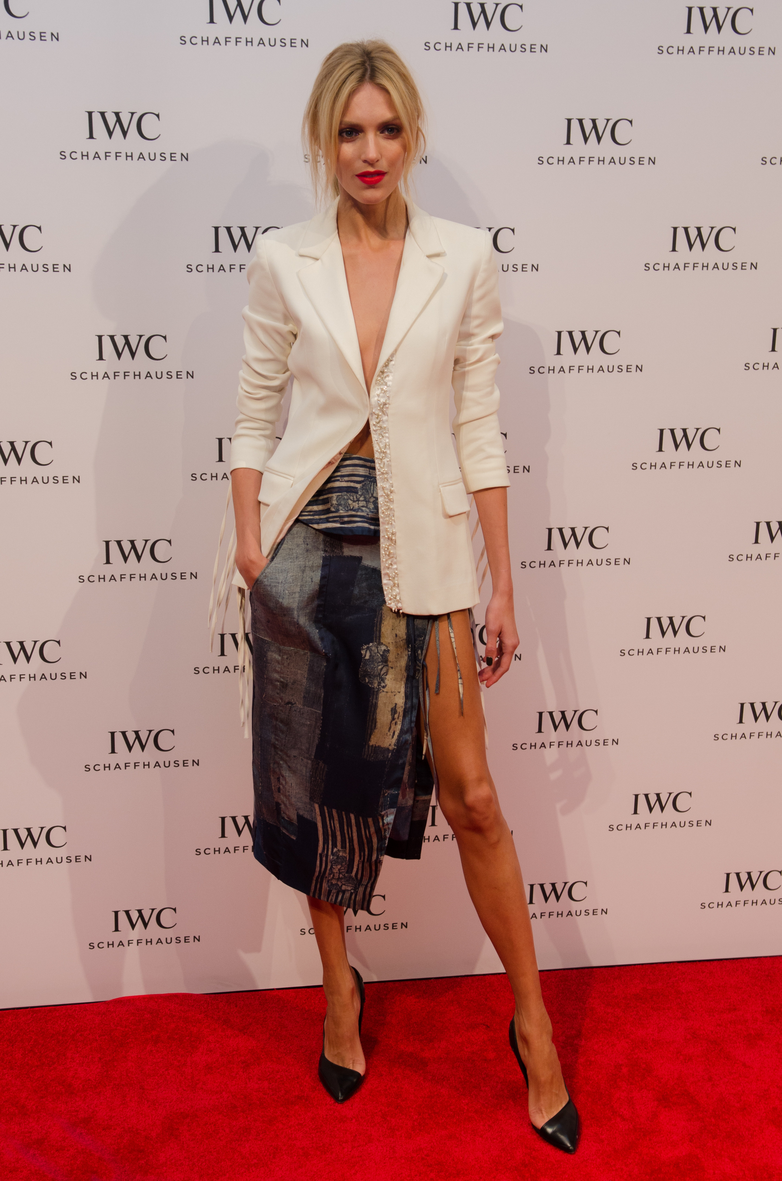 "Anja Rubik [supermodel] @ IWC Schaffhausen and Tribeca Film Festival Host ""For the Love of Cinema"" Celebration at Urban Zen"