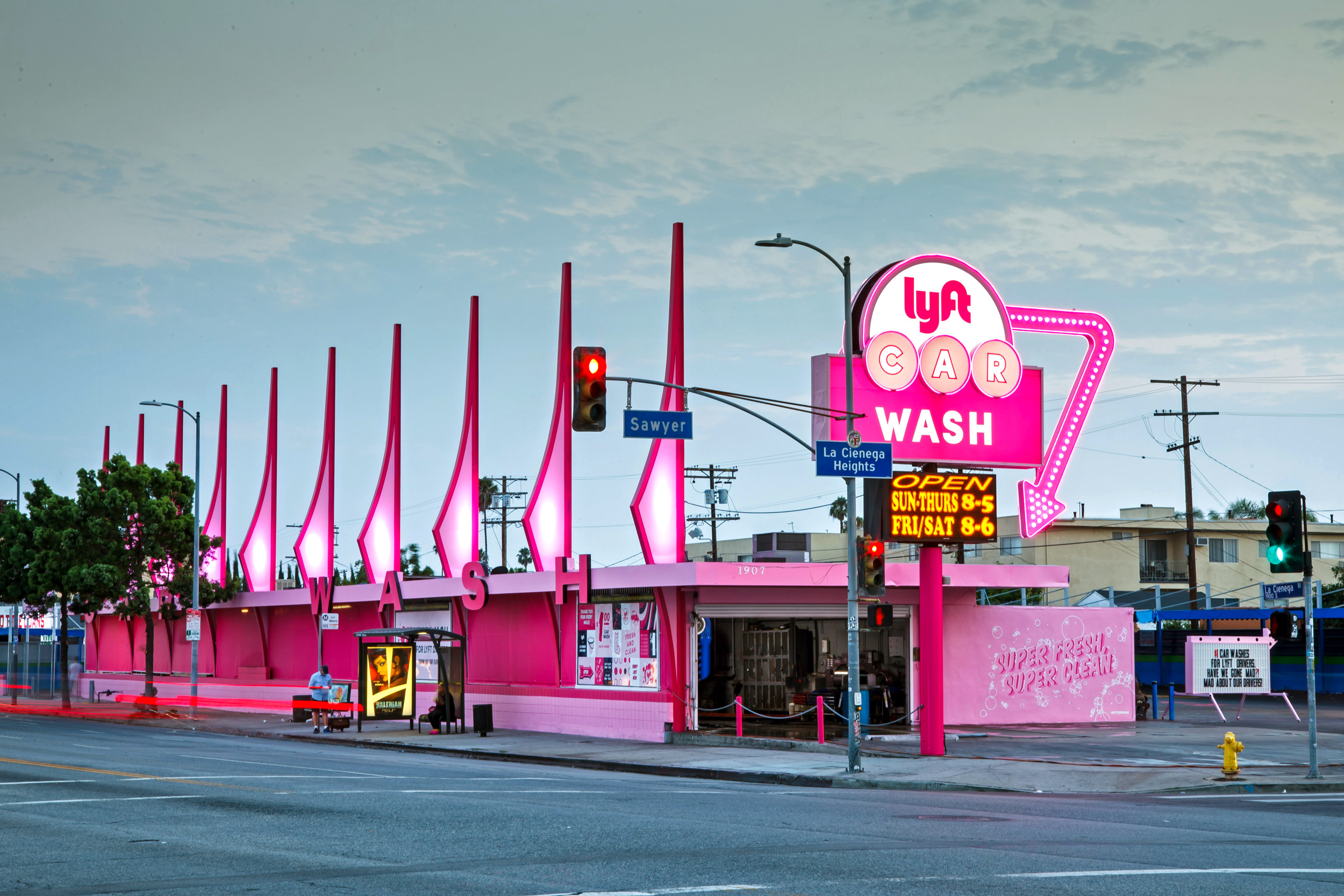 Lyft Car Wash Los Angeles