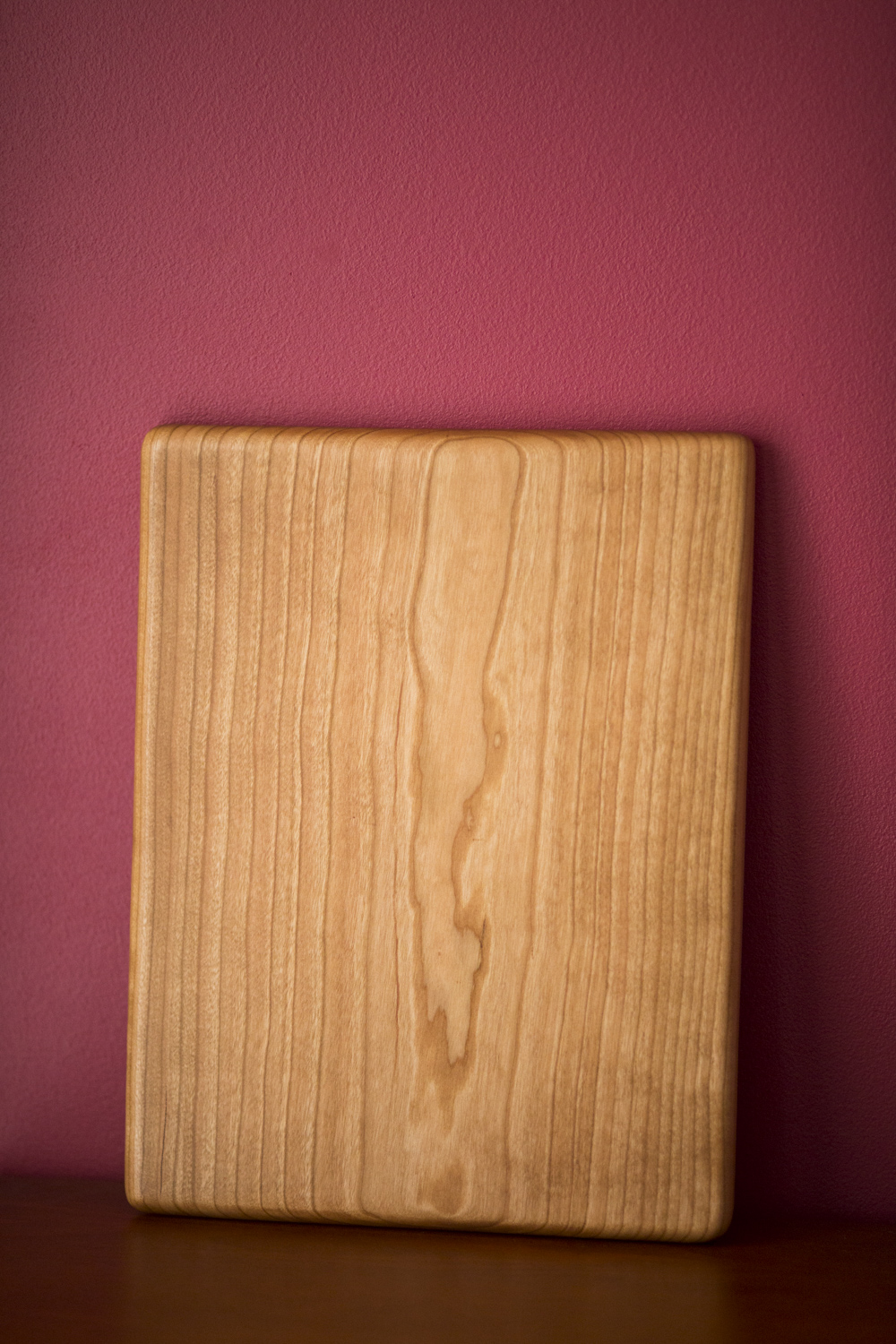 Serving board, cherry