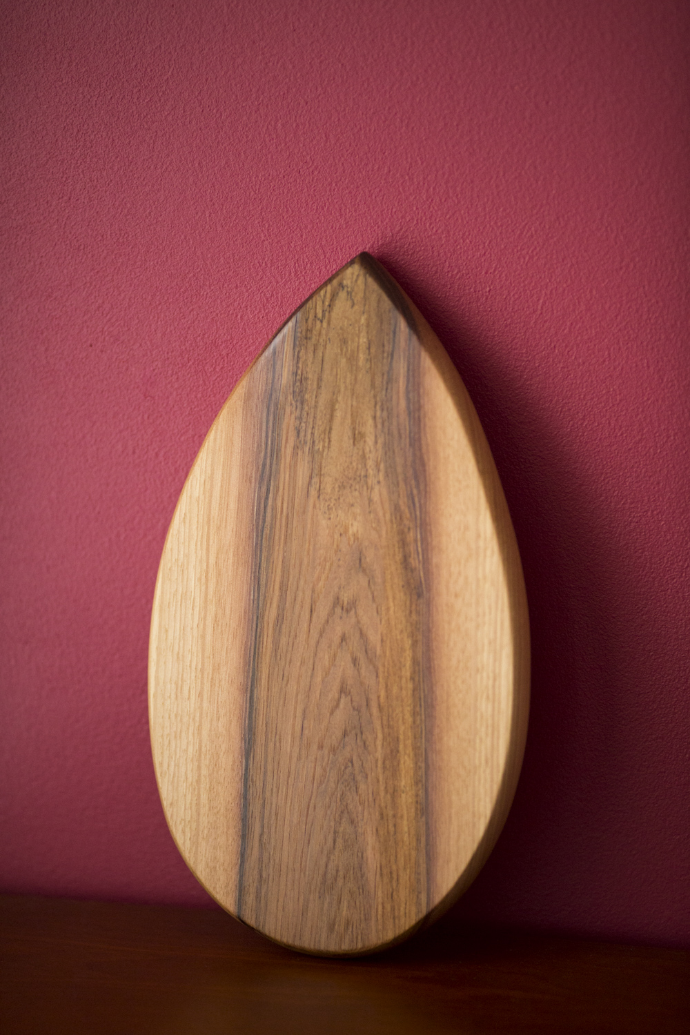 Serving board, hickory