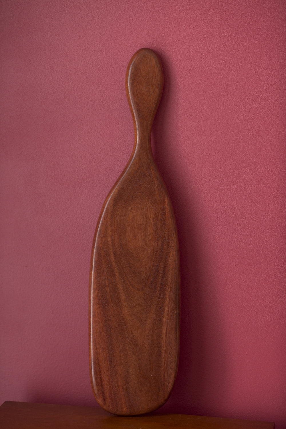 Serving board, santos mahogany