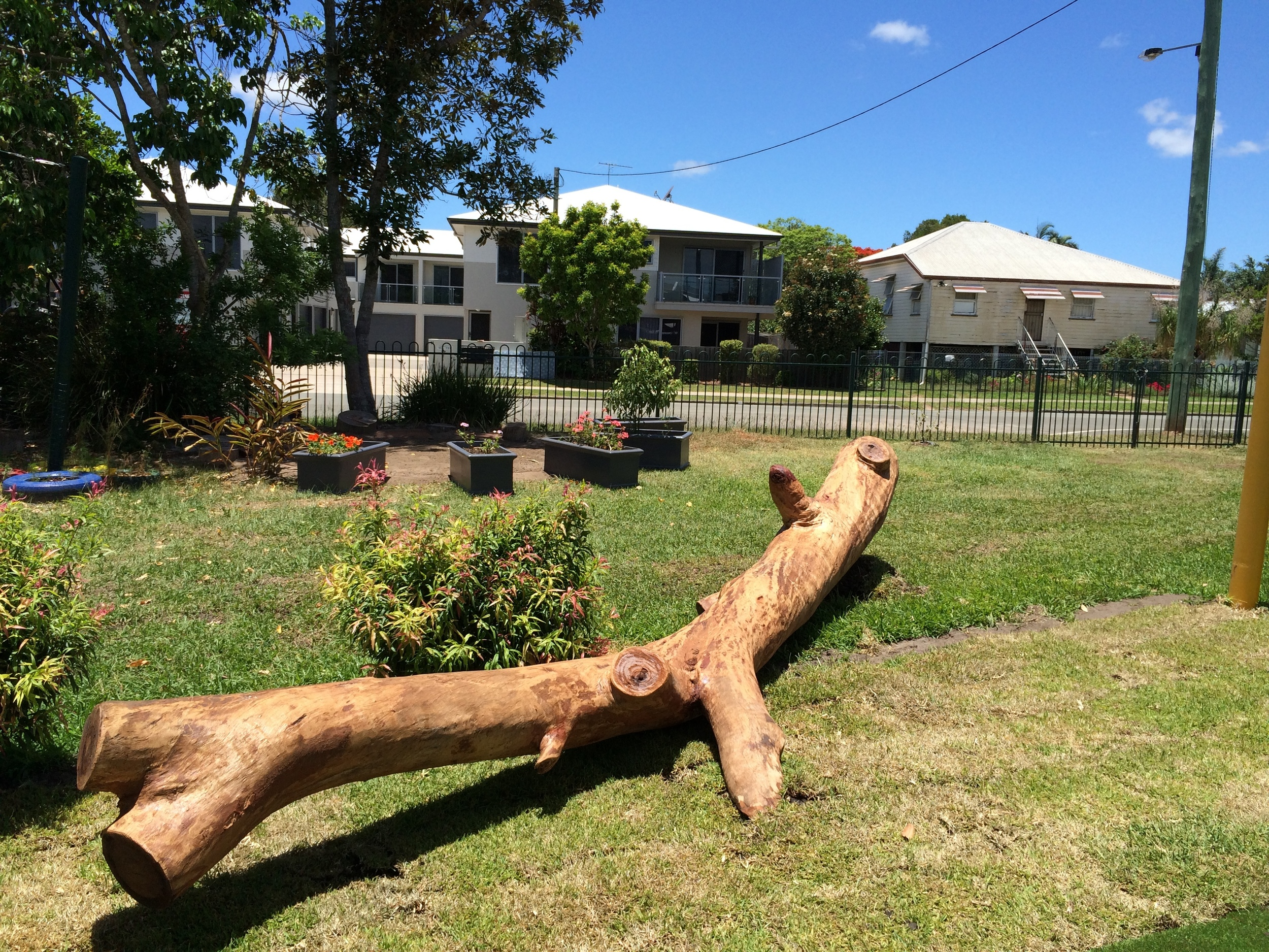 Natural Log Balance Climb was a must have in this Kindy