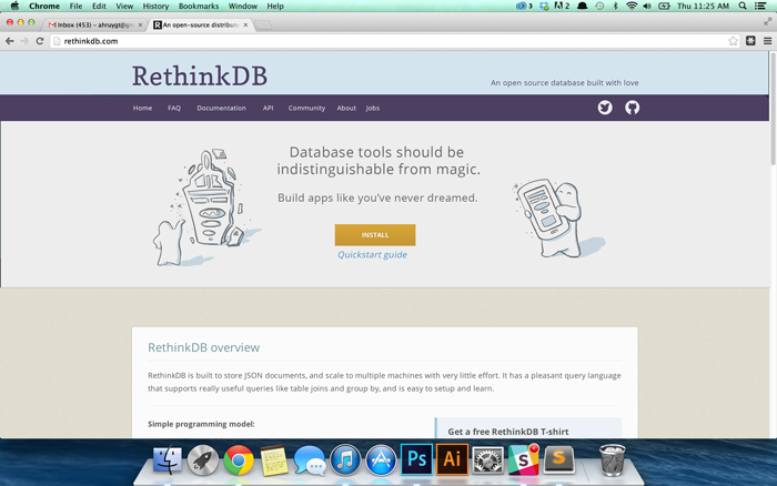 REthinkDB comp