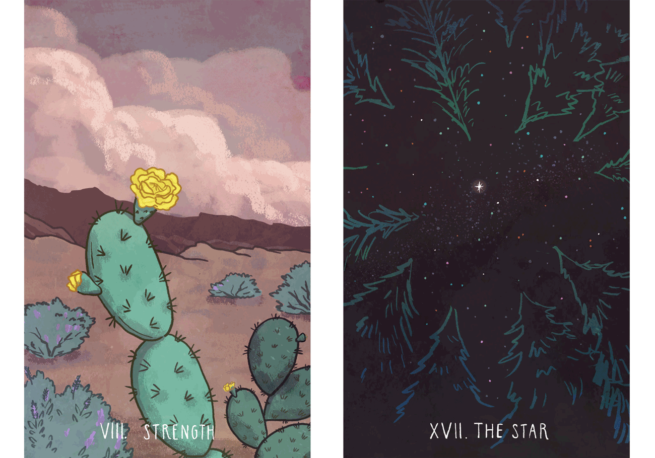 tarot-illustration-art-client-work-artist-orance-county-los-angeles