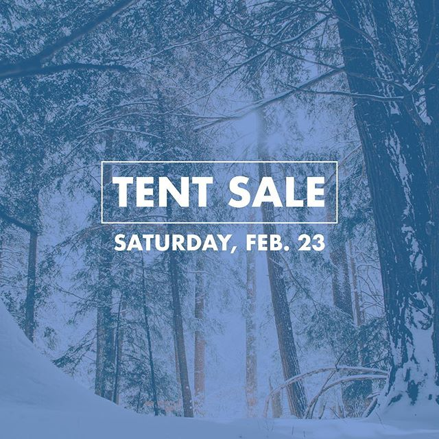 It's time again for our tent sale this Saturday! We've got so many great things marked down from North Face, Patagonia, UGG and more, and you certainly don't want to miss it! We've got product from last summer and this past winter at some pretty awesome prices 🙌🏼