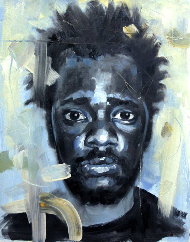 Portrait of a man in blues and yellows by Katerina Friday.jpg