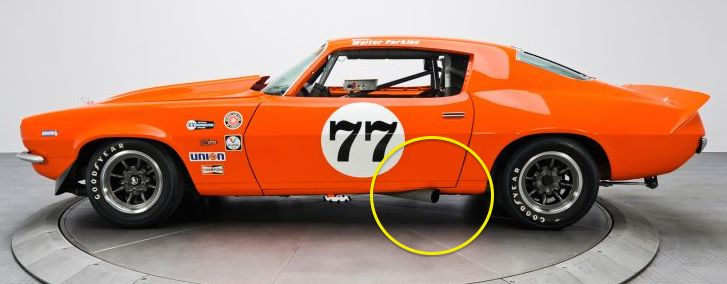 '72 Camaro trans-am racer
